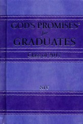 NIV God's Promises for Graduates, Class of 2017 - Hardcover,  Lavender