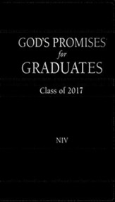 NIV God's Promises for Grads 2017, Black