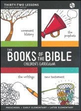 The Books of the Bible Children's Curriculum CDRom