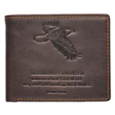 Isaiah 40:31 Genuine Leather Wallet