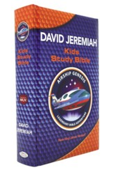 NKJV, Airship Genesis Kids Study Bible, Hardcover - Slightly Imperfect