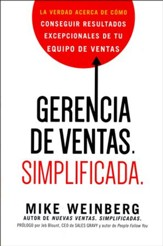 Gerencia de Ventas. Simplificada  (Sales Management. Simplified)
