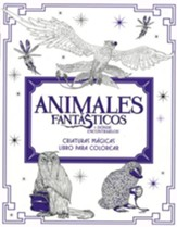 Animales Fantasticos y Donde Encontrarlos, Libro para Colorear   (Fantastic Beasts and Where to Find Them, Coloring Book) - Slightly Imperfect