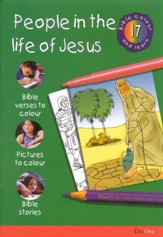Bible Colour and Learn: 17 People in The Life of Jesus