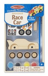 Race Car, Decorate Your Own
