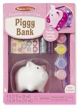 Piggy Bank, Decorate Your Own