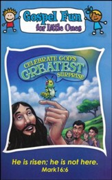 Celebrate God's Greatest Surprise, Gospel Fun for Little Ones Activity Book