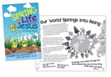 Spring To Life with Jesus Activity Book