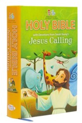 ICB Jesus Calling Bible for Children, Hardcover - Slightly Imperfect