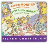 Cinco Monitos Brincando en la Cama, Five Little Monkeys Jumping on the Bed