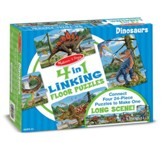 Dinosaurs Linking Floor Puzzle, 96 Pieces