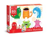 Mini Monsters Jigsaw Puzzle, 30 Pieces