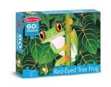 Red-Eyed Tree Frog Jigsaw Puzzle, 60 Pieces