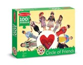 Circle of Friends Jigsaw Puzzle, 100 Pieces