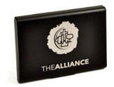 The Alliance, Business Card Holder, Black