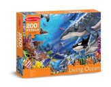Living Ocean Jigsaw Puzzle, 200 Pieces