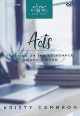 Verse Mapping Acts DVD Study: Feasting on the Abundance of God's Word