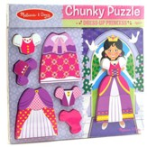 Princess Chunky Puzzle, 11 Pieces