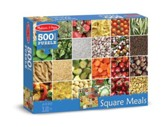 Square Meals Jigsaw Puzzle, 500 Pieces