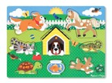 Pets Peg Puzzle, 8 Pieces