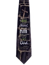 Saved Through Faith Silk Tie, Ephesians 2:8