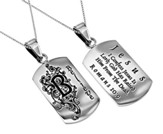 Believe, Letter Dog Tag