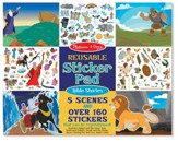 Bible Stories, Reusable Sticker Pad