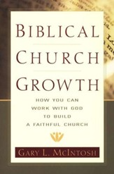 Biblical Church Growth: How You Can Work with God to Build a Faithful Church