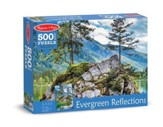 Evergreen Reflections Puzzle, 500 Pieces