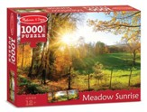 Meadow Sunrise Puzzle, 1000 Pieces