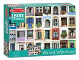 World Windows Puzzle, 1500 Pieces