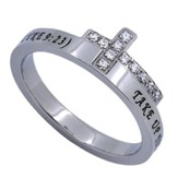 Follow, Just The Cross Ring, Size 7