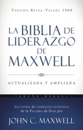 RVR 1960 Bible de Liderazgo de Maxwell, Tam. Manual (Leadership Handy Size Bible, Imitation Leather)