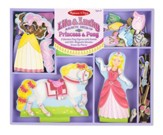 Lila and Lucky Magnetic Dress-Up Set