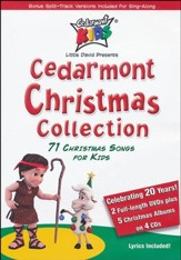 Cedarmont Christmas Collection 2 DVD/4 CD Set