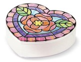 Stained Glass Made Easy, Heart Box