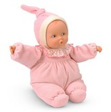 Babipouce Baby Doll, Striped, Pink