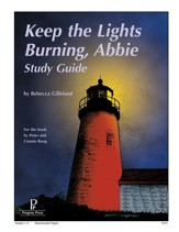 Keep the Lights Burning, Abbie  Progeny Press Study Guide