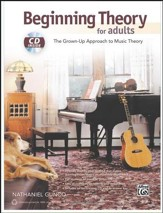 Beginning Theory for Adults: the Grown-Up  Approach to Music Theory Book & CD