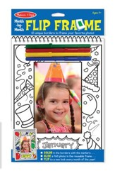 Month By Month Flip Frame, Activity Pad