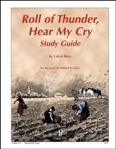 Roll of Thunder, Hear My Cry Progeny Press Study Guide