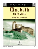 Macbeth Progeny Press Study Guide, Grades 9-12