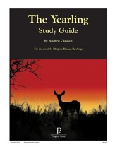 The Yearling Progeny Press Study Guide, Grades 9-12
