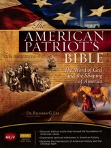 NKJV American Patriot's Bible, Blue, Leathersoft