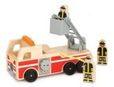 Fire Truck Set, 4 Pieces