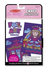 Princesses, Foil Art Kit