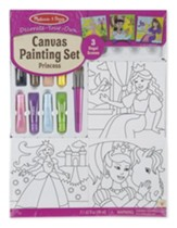 Canvas Painting Set, Princess