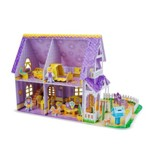 Pretty Purple Dollhouse 3D Puzzle
