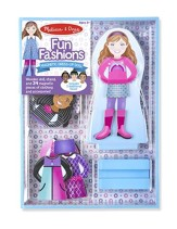 Magnetic Dress-Up, Fun Fashions