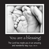 Picture Magnet, Baby's Feet, Psalm 139:14